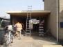 Werk Emmen, garage nieuwbouw.